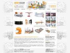 Корпоративный сайт торгово производственной компании Smart Decor.